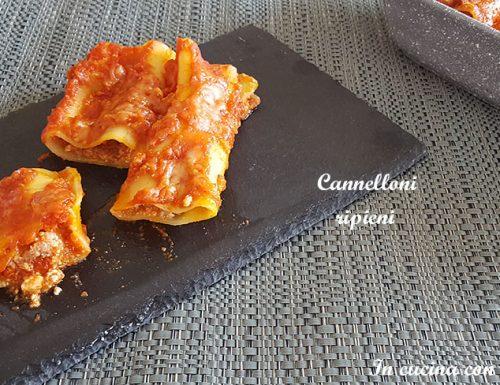 Cannelloni ripieni – ricetta gustosa