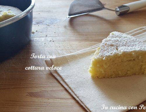 Torta con cottura veloce (microonde)