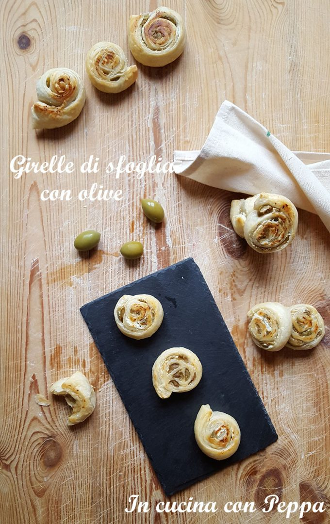 girelle di sfoglia con olive