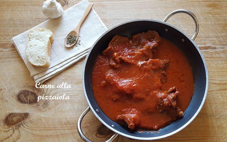 Carne alla pizzaiola – ricetta veloce e saporita