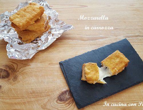 Mozzarella in carrozza – ricetta semplice e saporita