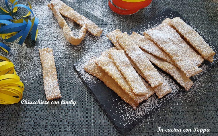 Chiacchiere bimby – ricetta carnevale
