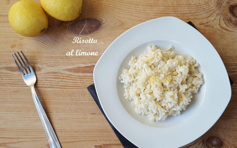 Risotto al limone – fresco e delicato