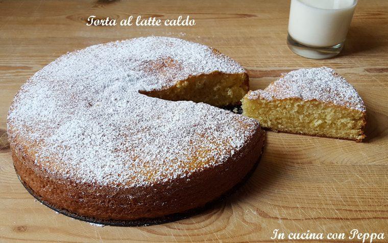 Torta al latte caldo con CuCo – (Cuisine Companion)