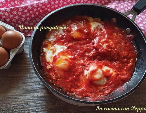 Uova in purgatorio – ricetta tipica campana