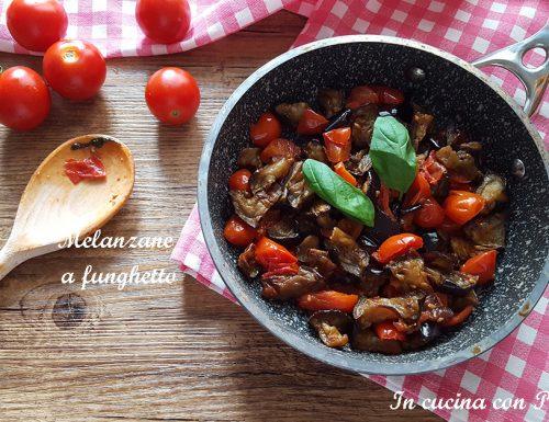 Melanzane a funghetto – ricetta saporita