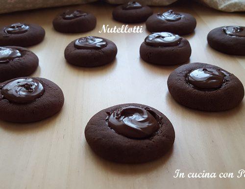 Nutellotti – biscotti golosi con soli 3 ingredienti