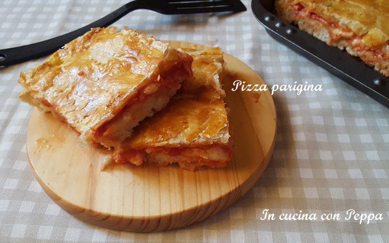 Pizza parigina – ricetta napoletana gustosa