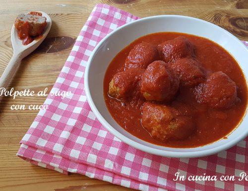 Polpette al sugo con CuCo (Cuisine Companion)
