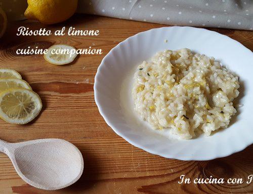 Risotto al limone con CuCo (Cuisine Companion)