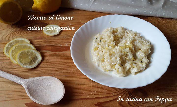 risotto al limone con cuco