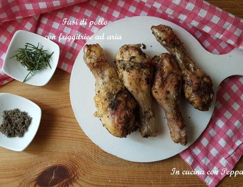 Fusi di pollo con friggitrice ad aria