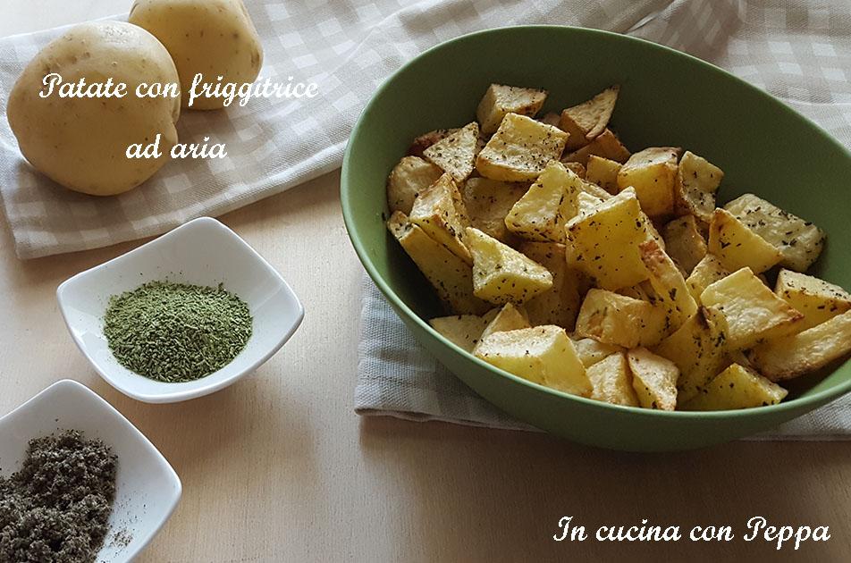 patate con friggitrice ad aria