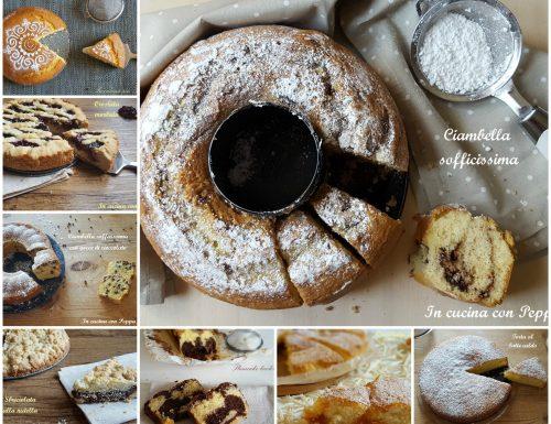 Raccolta di torte soffici deliziose
