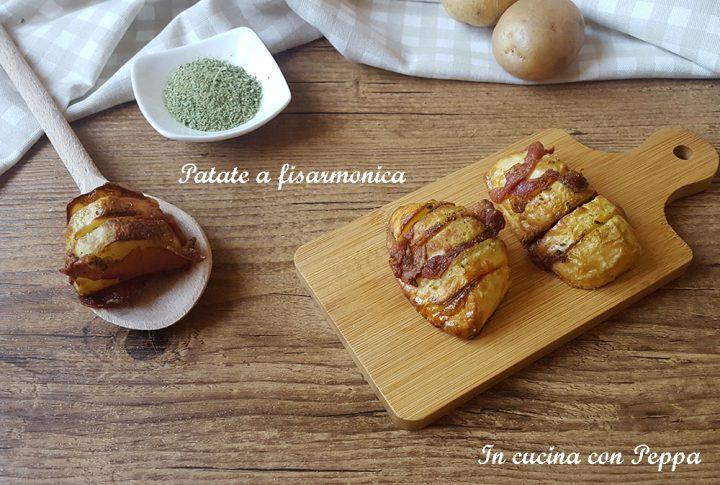 patate fisarmonica con friggitrice d aria