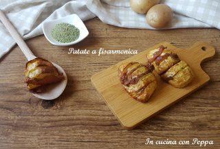 patate fisarmonica con friggitrice ad aria