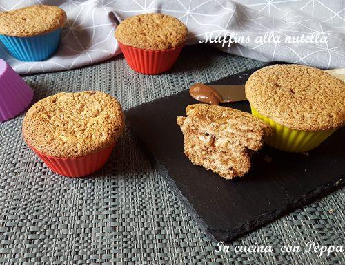 Muffins alla nutella sofficissimi