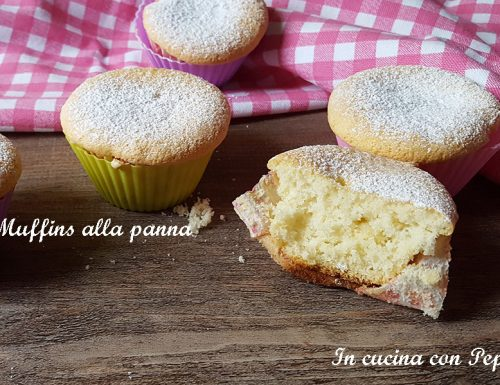 Muffins sofficissimi alla panna