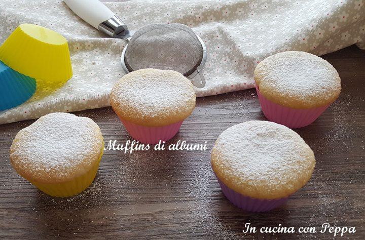 muffins di albumi sofficissimi