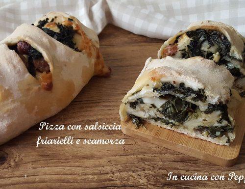 Pizza salsiccia e friarielli – ricetta napoletana