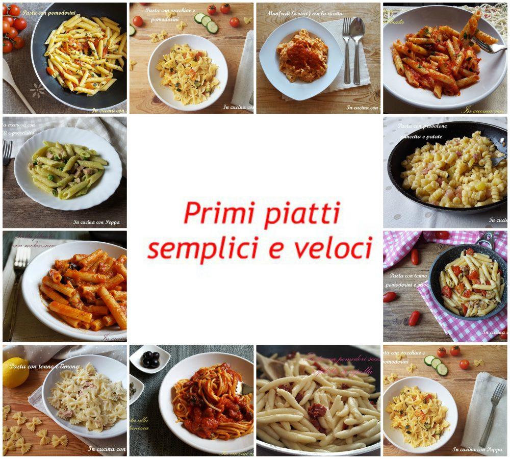 primi piatti semplici e veloci