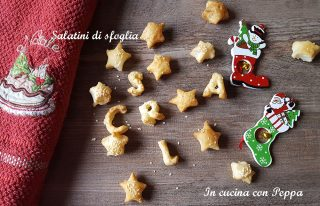 salatini di sfoglia natalizi