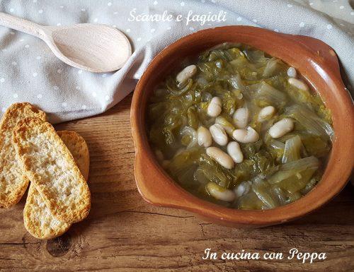 Scarole e fagioli – zuppa saporita