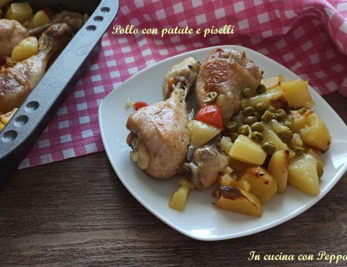 Pollo con patate e piselli – secondo saporito