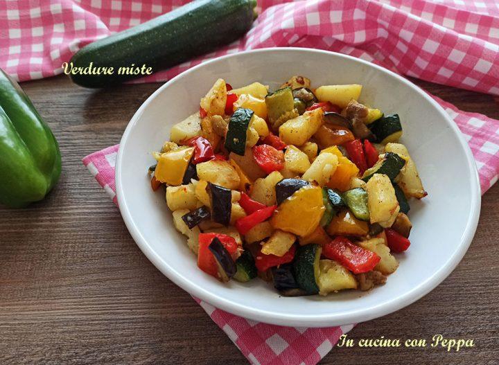 verdure miste con friggitrice ad aria