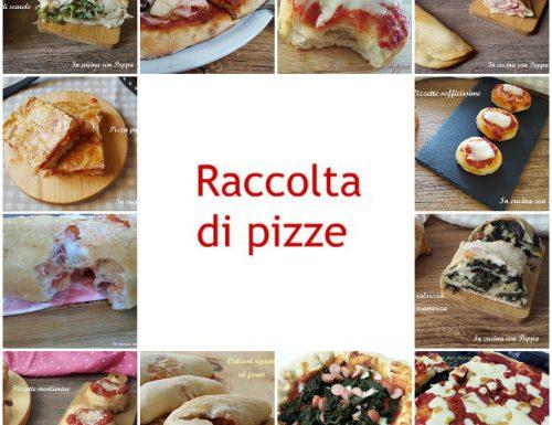 Raccolta pizze per tutti i gusti
