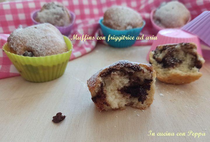 muffins sofficissimi con friggitrice ad aria