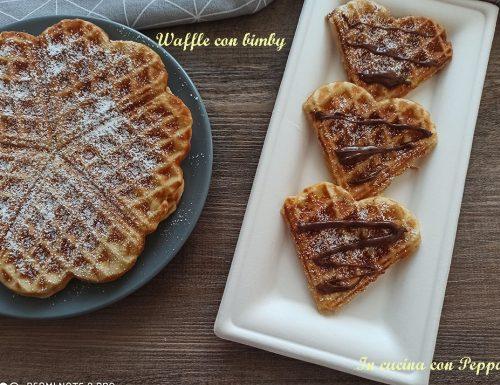 Waffel bimby – waffle o gaufre