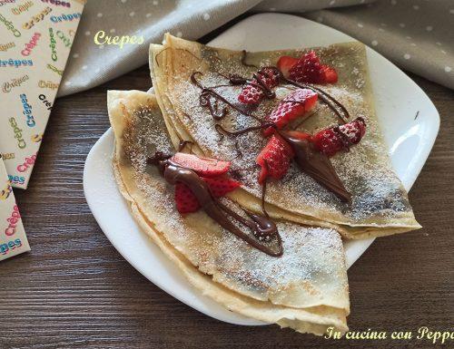 Crepes dolci – ricetta perfetta