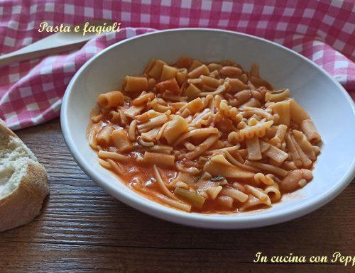 Pasta e fagioli – primo saporito