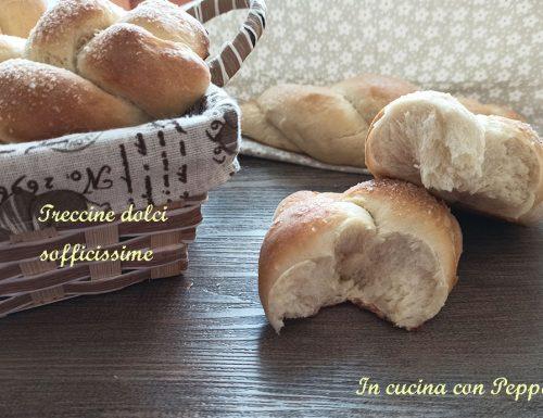 Treccine dolci sofficissime e deliziose