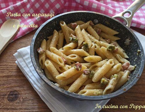 Pasta con asparagi e pancetta – primo saporito