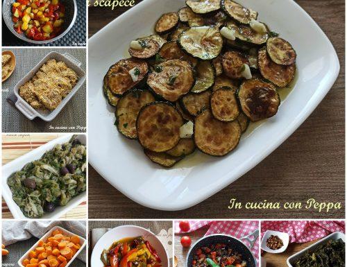 Raccolta di contorni-ricette semplici e gustose