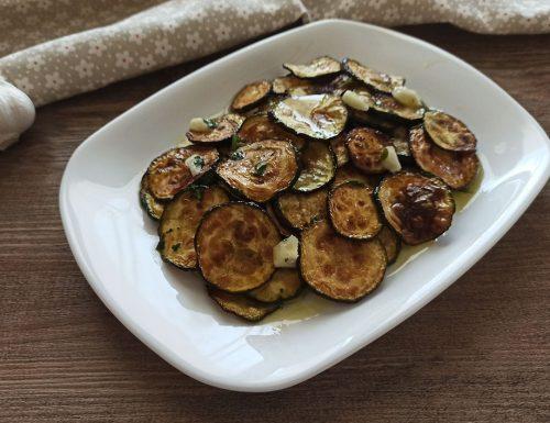 Zucchine alla scapece – contorno gustoso