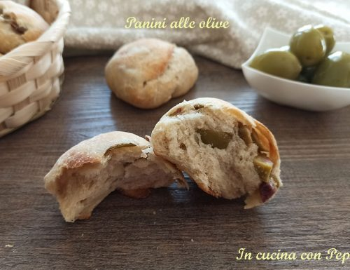 Panini alle olive soffici e gustosi