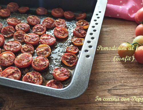 Pomodorini confit (cottura al forno)