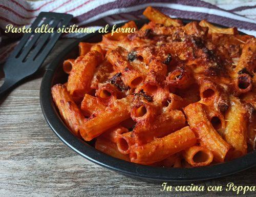 Pasta alla siciliana al forno saporita