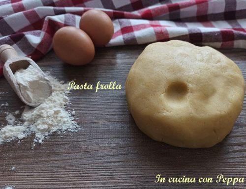 Pasta frolla che non si rompe per crostate e biscotti