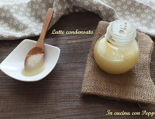 Latte condensato fatto in casa in 10 minuti