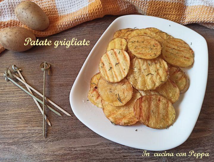 patate grigliate senza bollitura