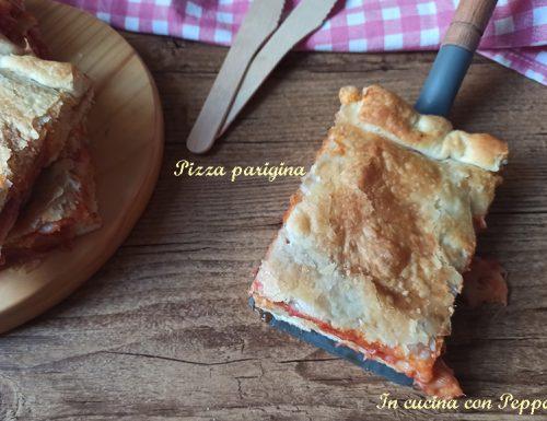 Pizza parigina con bimby, ricetta napoletana