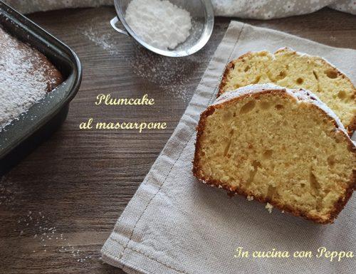Plumcake al mascarpone soffice e delizioso