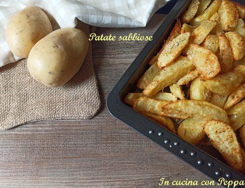 Patate sabbiose al forno- contorno saporito