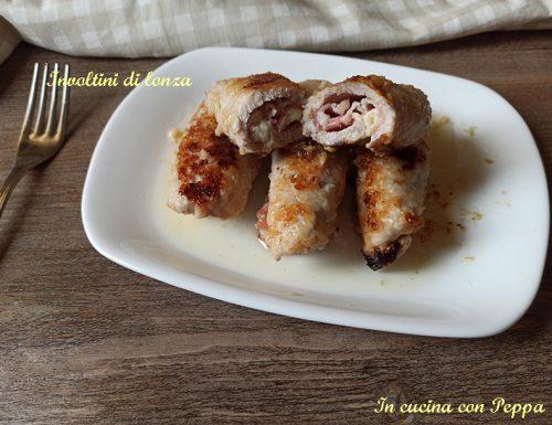 Involtini di carne saporiti con bacon e pecorino