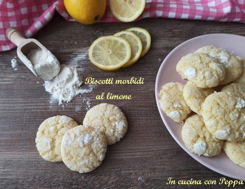 Biscotti morbidi al limone deliziosi e semplici