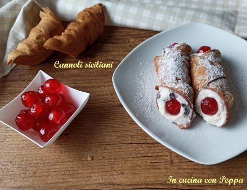 Cannoli siciliani, come farli in casa in modo semplice